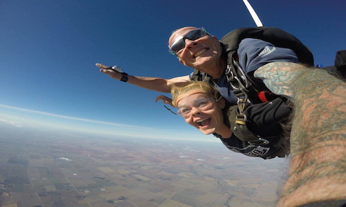 Go Tandem Skydiving - WINTER SPECIALS