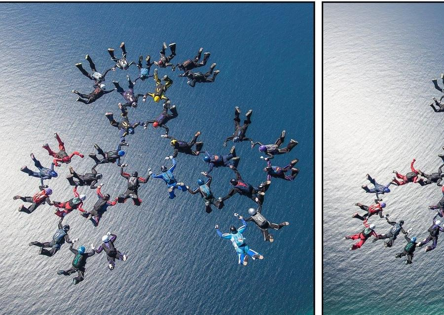 2017 New Aussie Skydiving Record