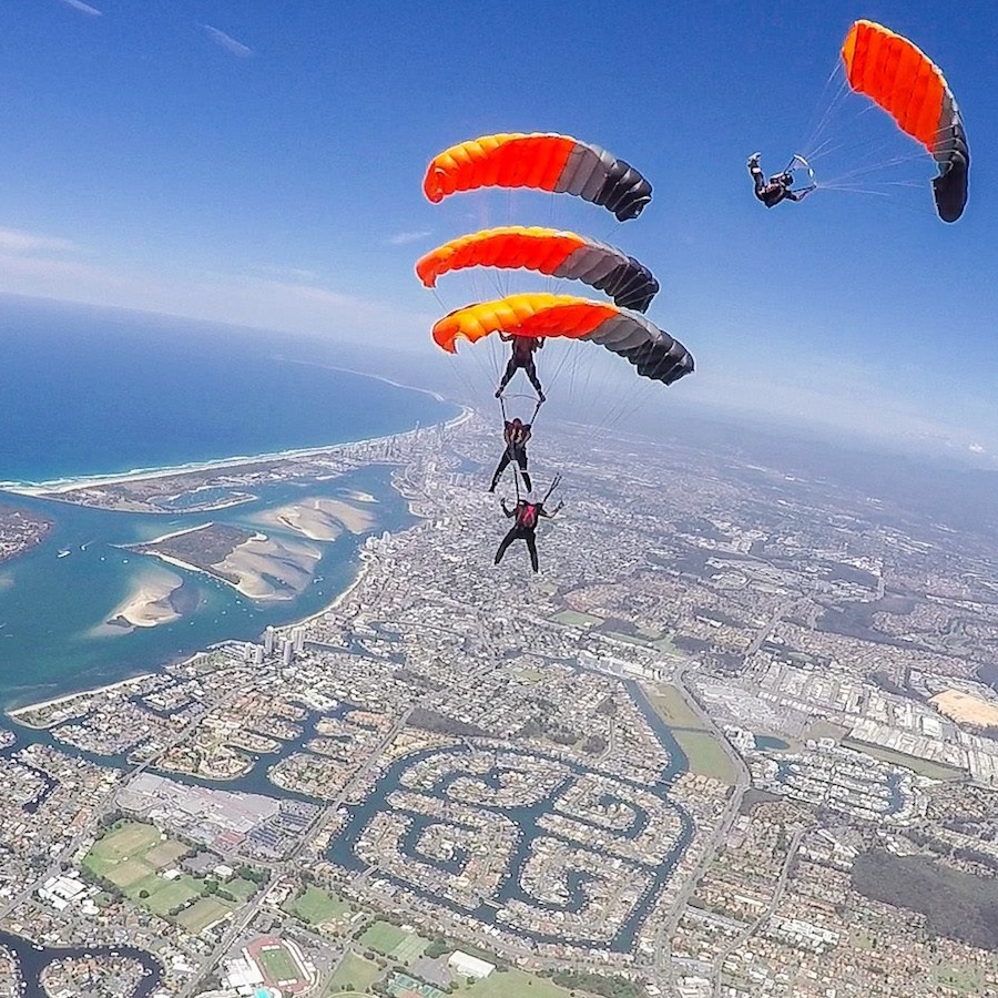 Our competition Team gets 4th place at the World Parachuting Championships
