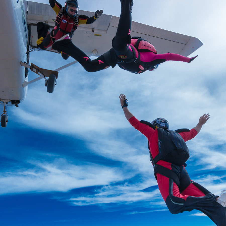 Licensed Skydivers Welcome